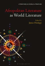 Afropolitan Lit as World Lit cover